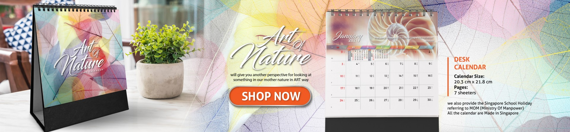 art of nature retail banner