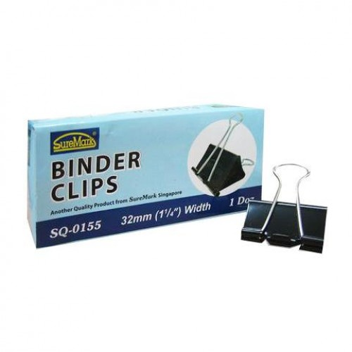 BINDER CLIPS SQ-0155 32MM