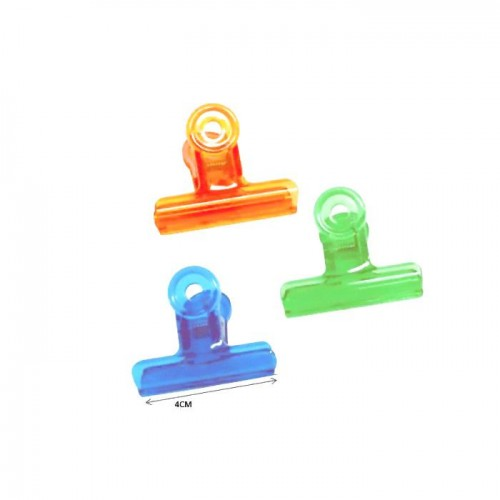 Plastic Bulldog Clip 4cm No. 40