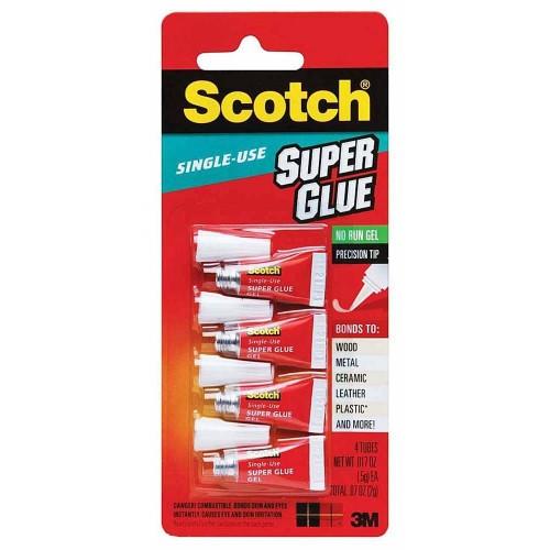 3M Scotch Single Use Super Glue Gel AD119