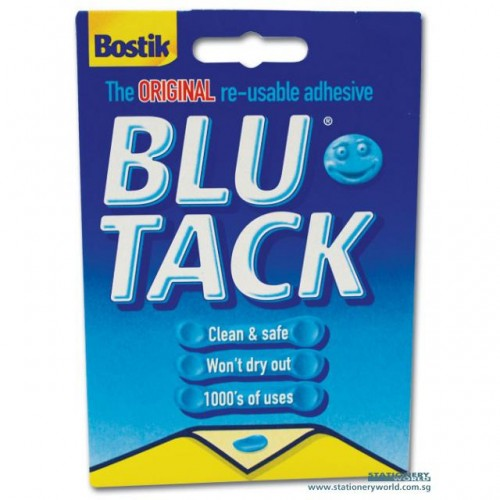 Bostik Small Blutack 45g Blue