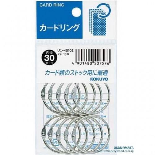 30MM METAL RINGS 10PCS/PKTa