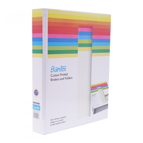 1.5 INCH ARCH FILE WITH POCKETS, FULL LAMINATED COVER - BANTEX 12722