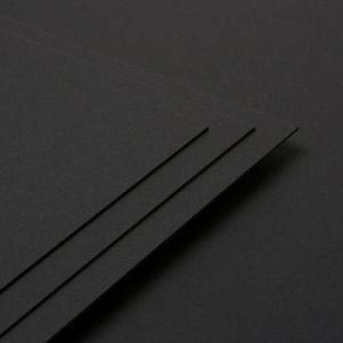 A3 BLACK PAPER - PACK OF 100 SHEETS - GENII 120gsm