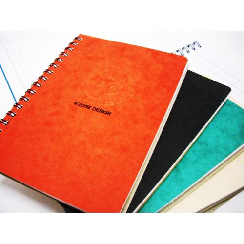 AZONE UNO RING BOTEBOOK A5 - 100 PAGES