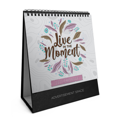 2021 Calendar - Live In The Moment - S7801