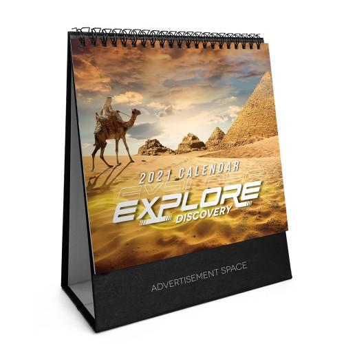 2021 Calendar - Explore And Discovery - S7808