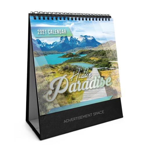 2021 Calendar - Hidden Paradise - S7809