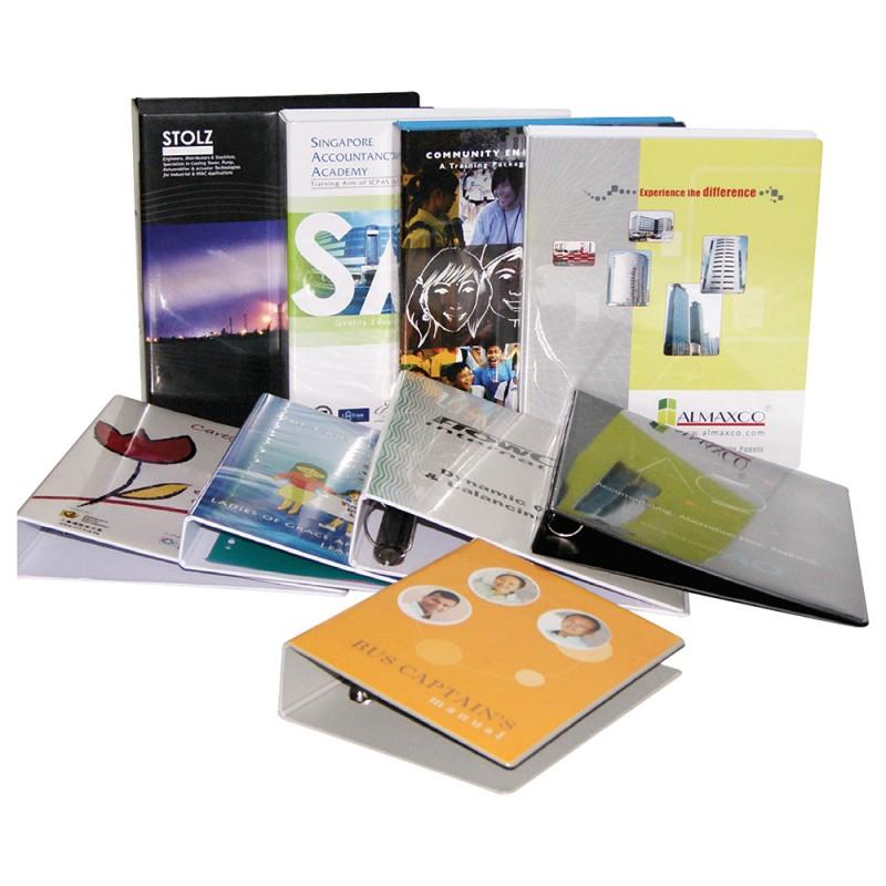 Customizing PVC Ring File